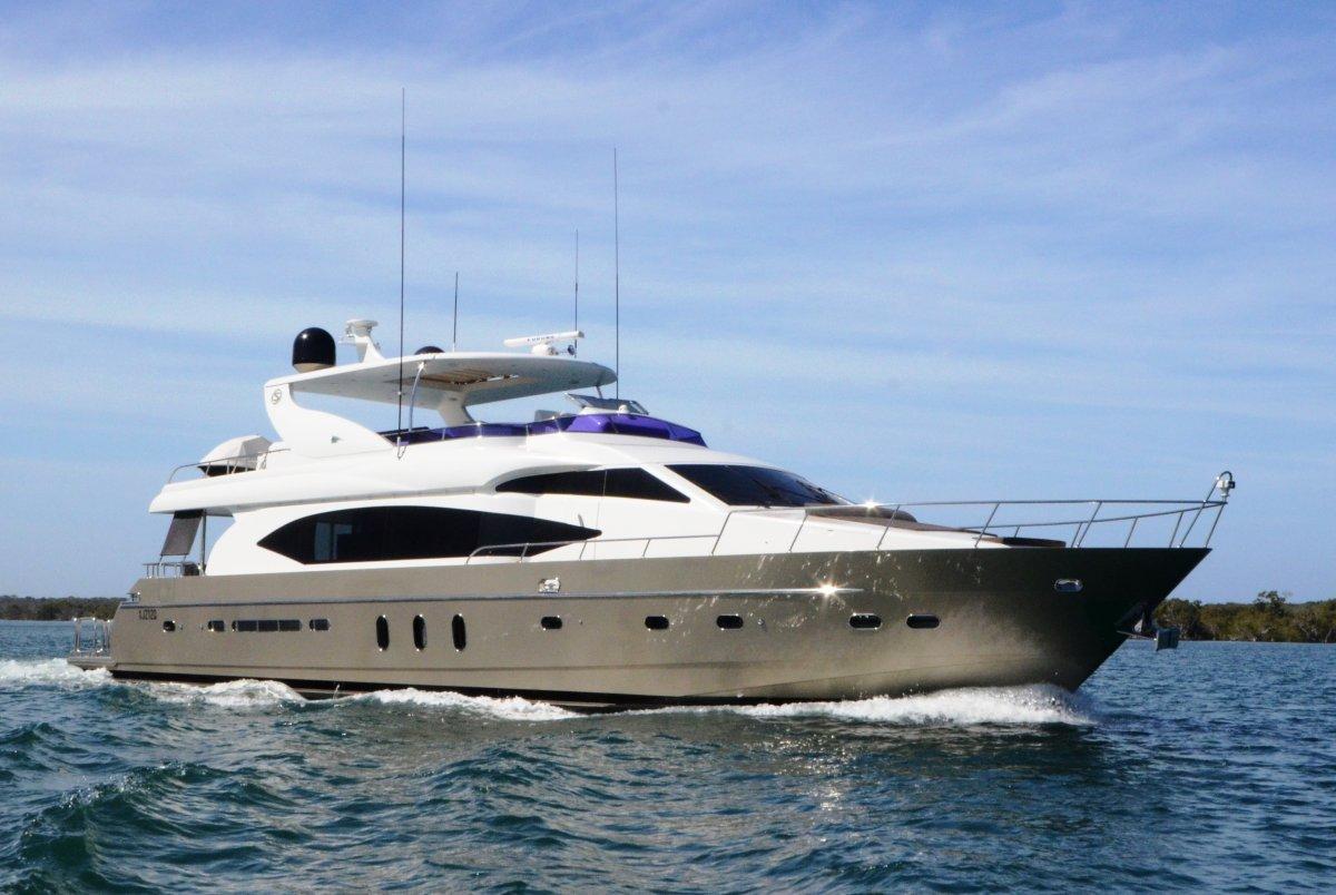 Monte Fino 88 Flybridge Motor Yacht