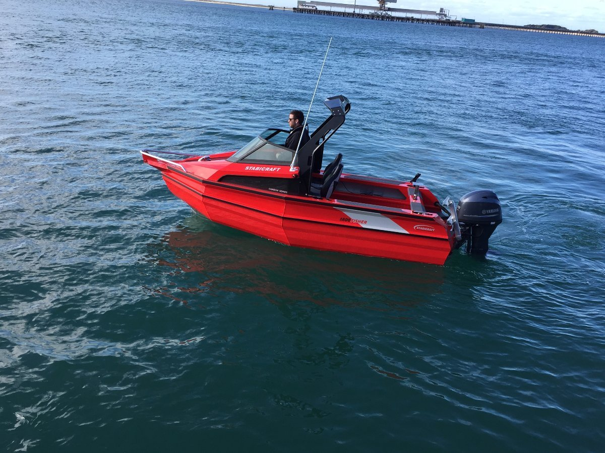 Stabicraft 1600 Fisher + Yamaha 60hp Four Stroke Outboard Motor