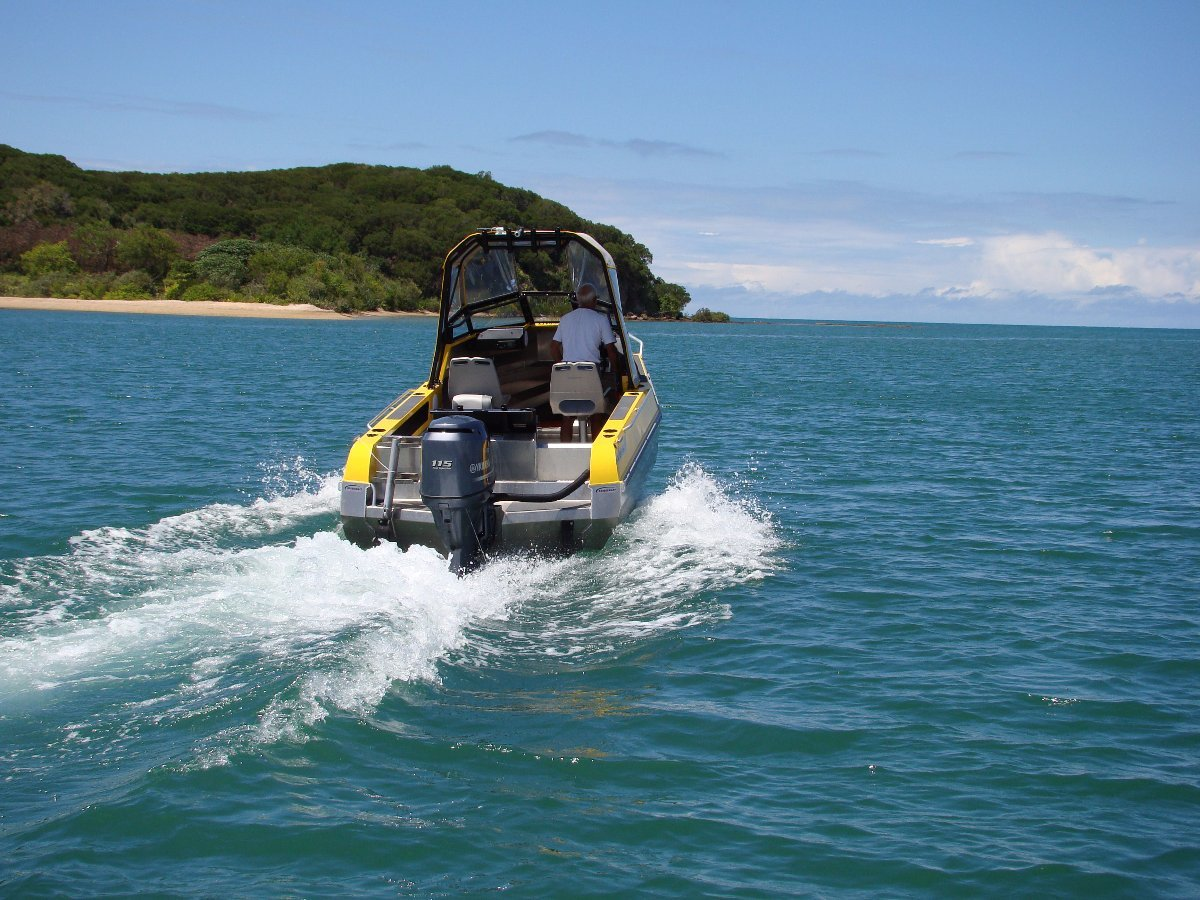 Stabicraft 1850 Fisher + Yamaha 100hp Four Stroke Outboard Motor