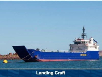 Custom Landing Barge
