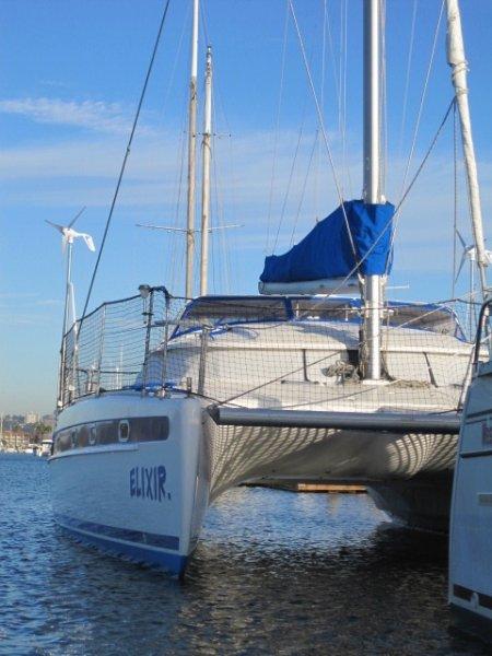Fountaine Pajot Venezia 42 Complete Hull Restored And Antifoul Nov 2016