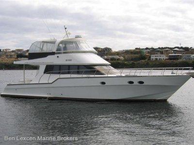 Custom Flybridge Cruiser Charter Business