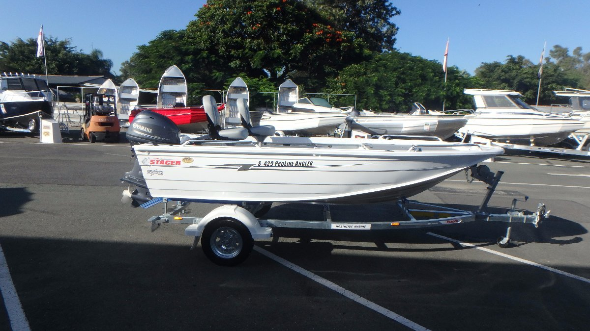 Stacer 429 Proline Angler Striker Series + Yamaha 30hp Four Stroke Outboard