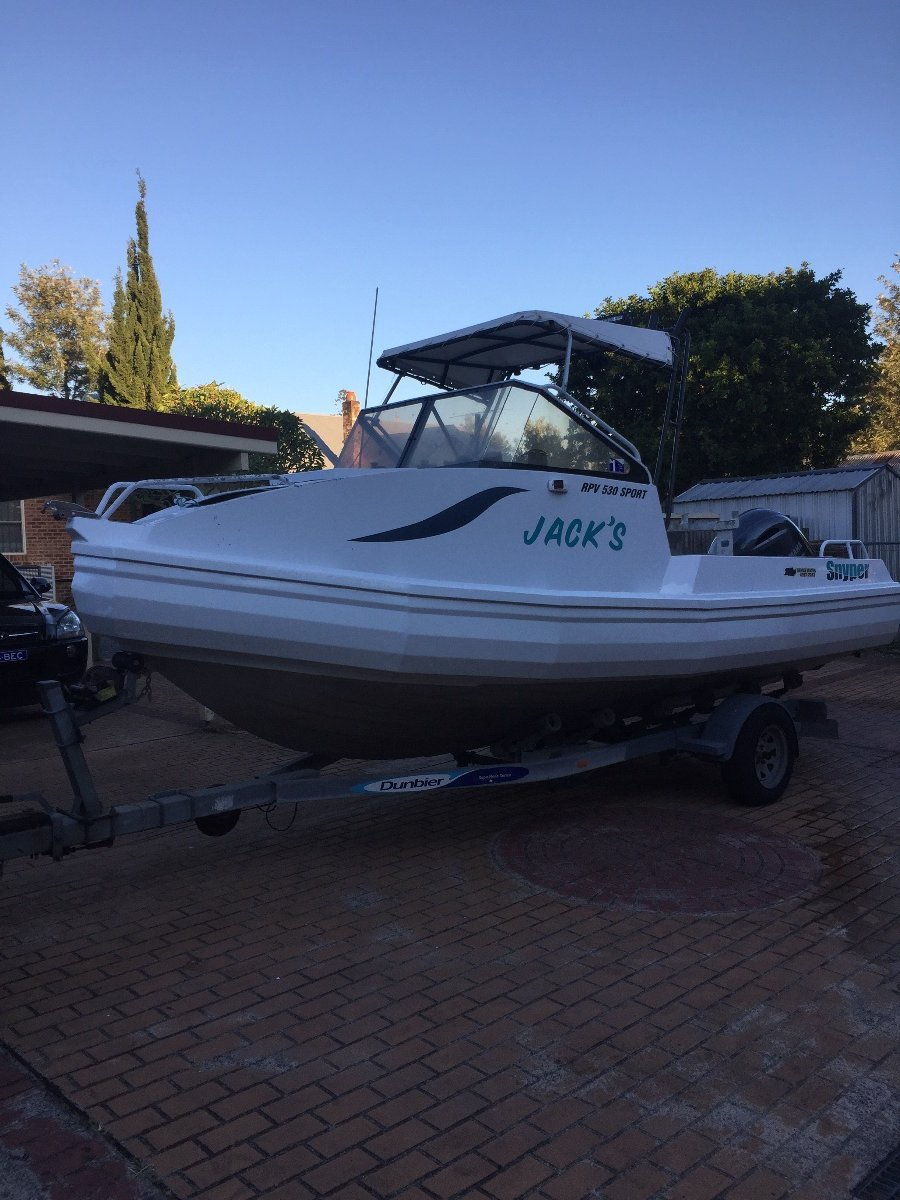 Snyper RPV 530 Sport (Looking to Swap for larger boat)