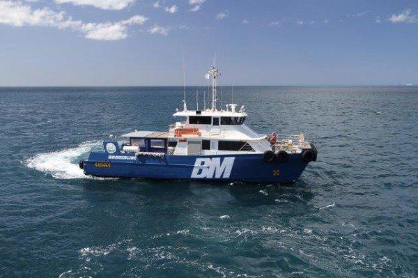 Sea Crest Crew Transfer Catamaran
