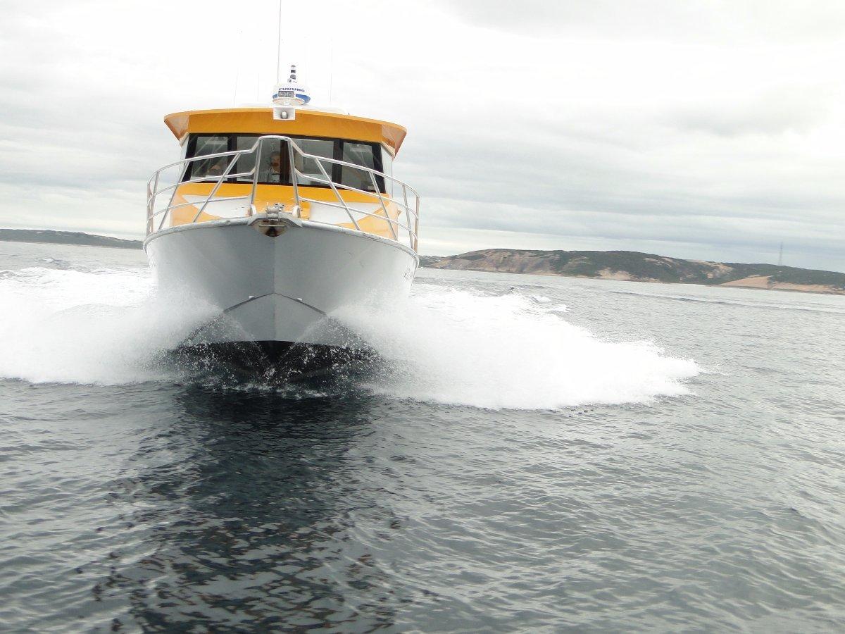 Jackman 12m Rescue Vessel:Magnificent entry