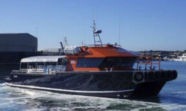 16m x 6m Jet Powered Commercial Catamaran/Workboat