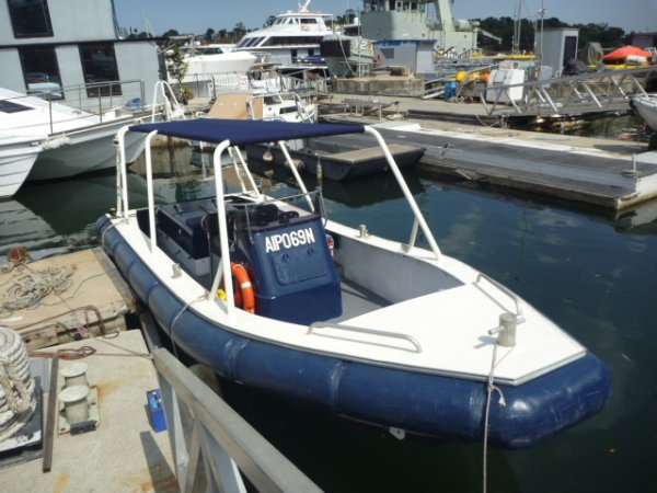 7.8 M Commercial Alloy Jetboat
