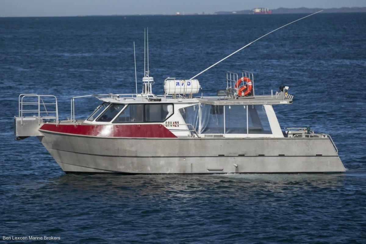 Seaquest Charter/Crew Supply Alumiium Utility Vessel