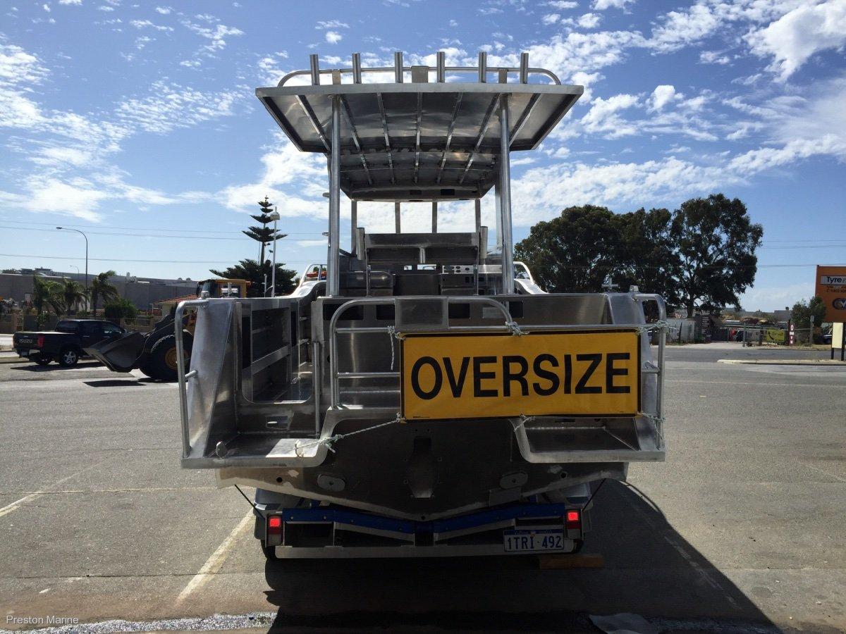 Preston Craft 7.6m Thunderbolt Walkaround inboard diesel
