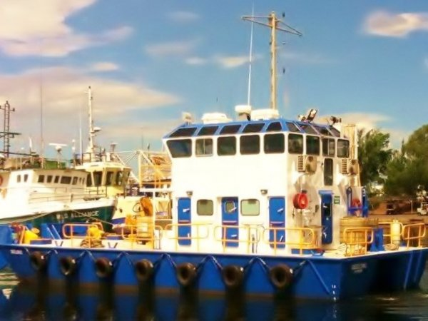 18m x 6.8m Steel Commercial Harbour Workboat