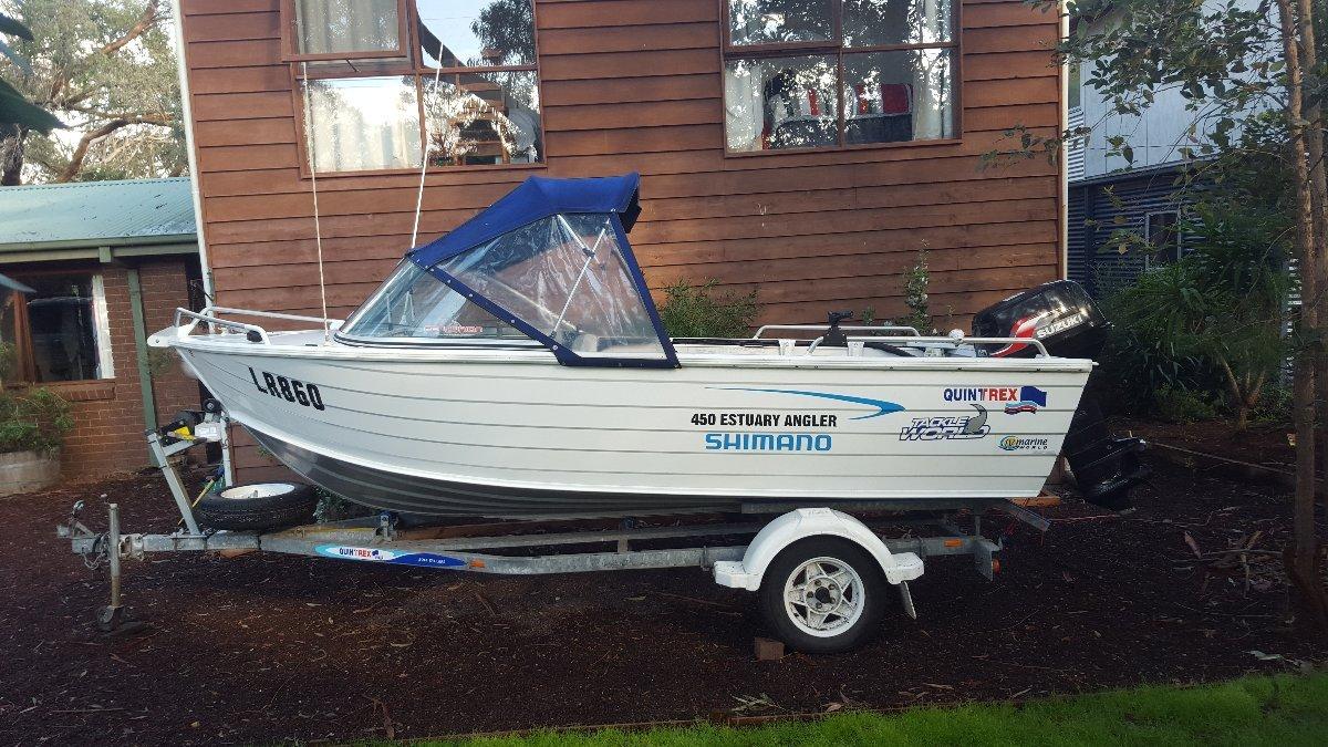 Quintrex 450 Estuary Angler