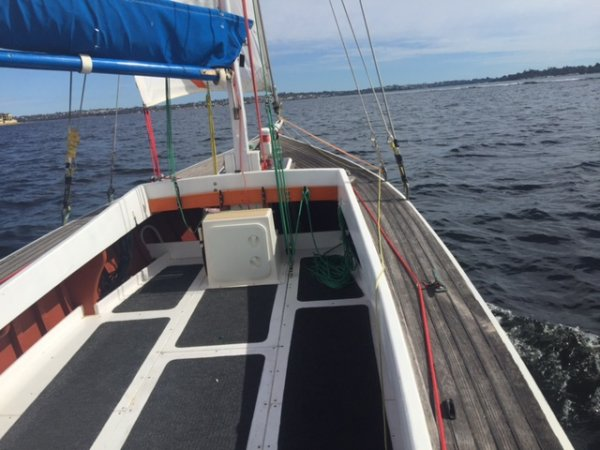 Oregon gaff rigged classic yacht - MUST SELL