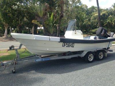 Yamaha Southwind 5.8M Long Boat