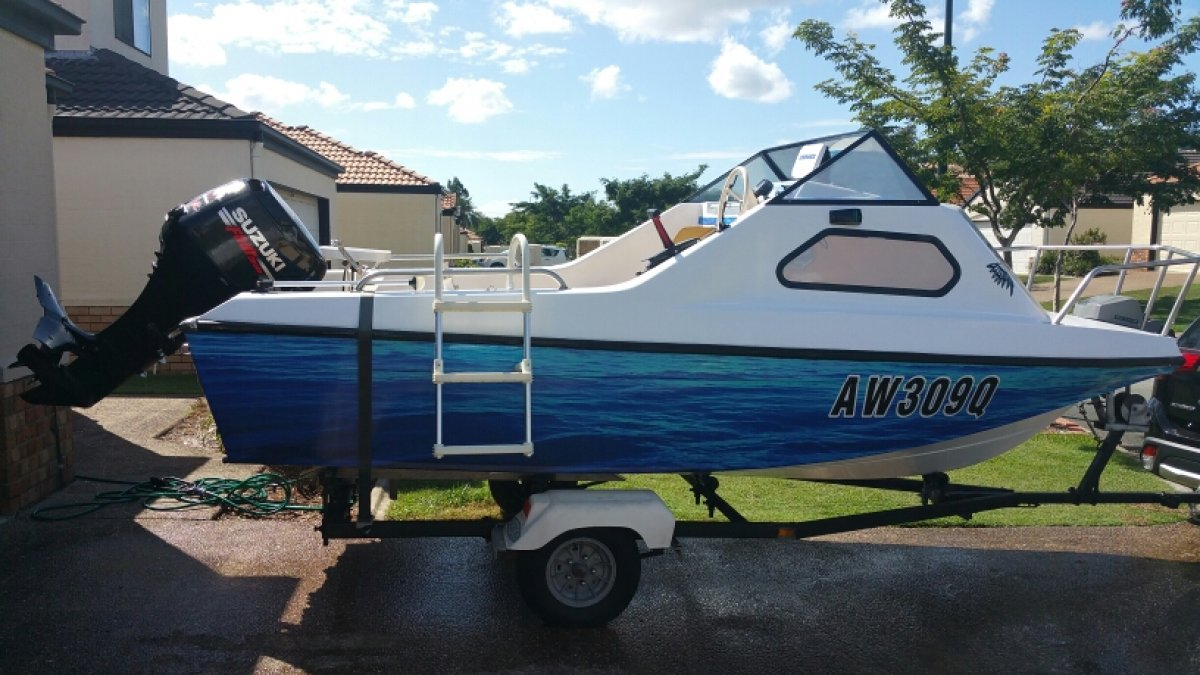 Nova Cabin Cruiser Suzuki 50hp four stroke - 6 hours run Only