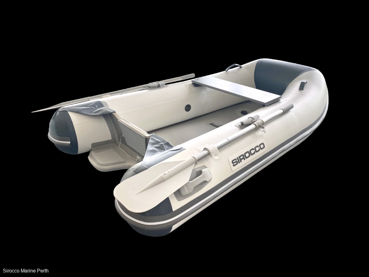 Sirocco 2.2m Air V hull Inflatable tender