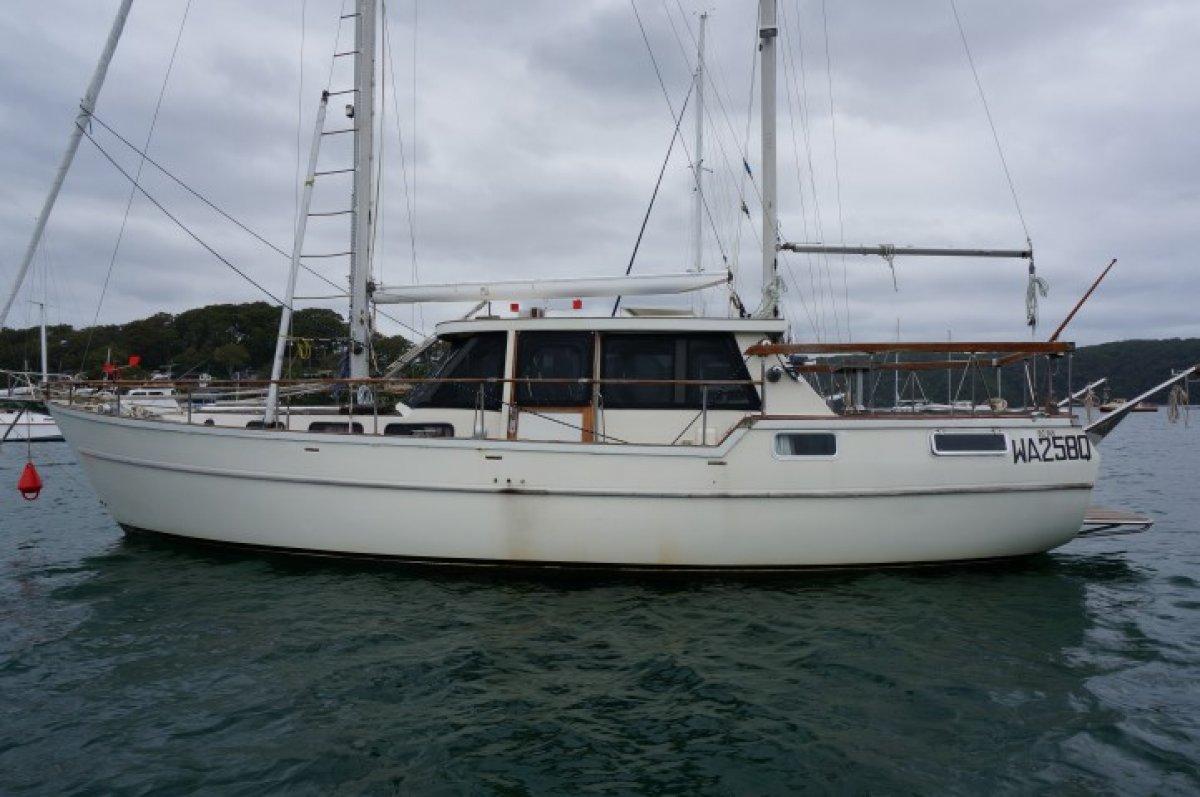 Nauticat 38 Pilothouse Ketch