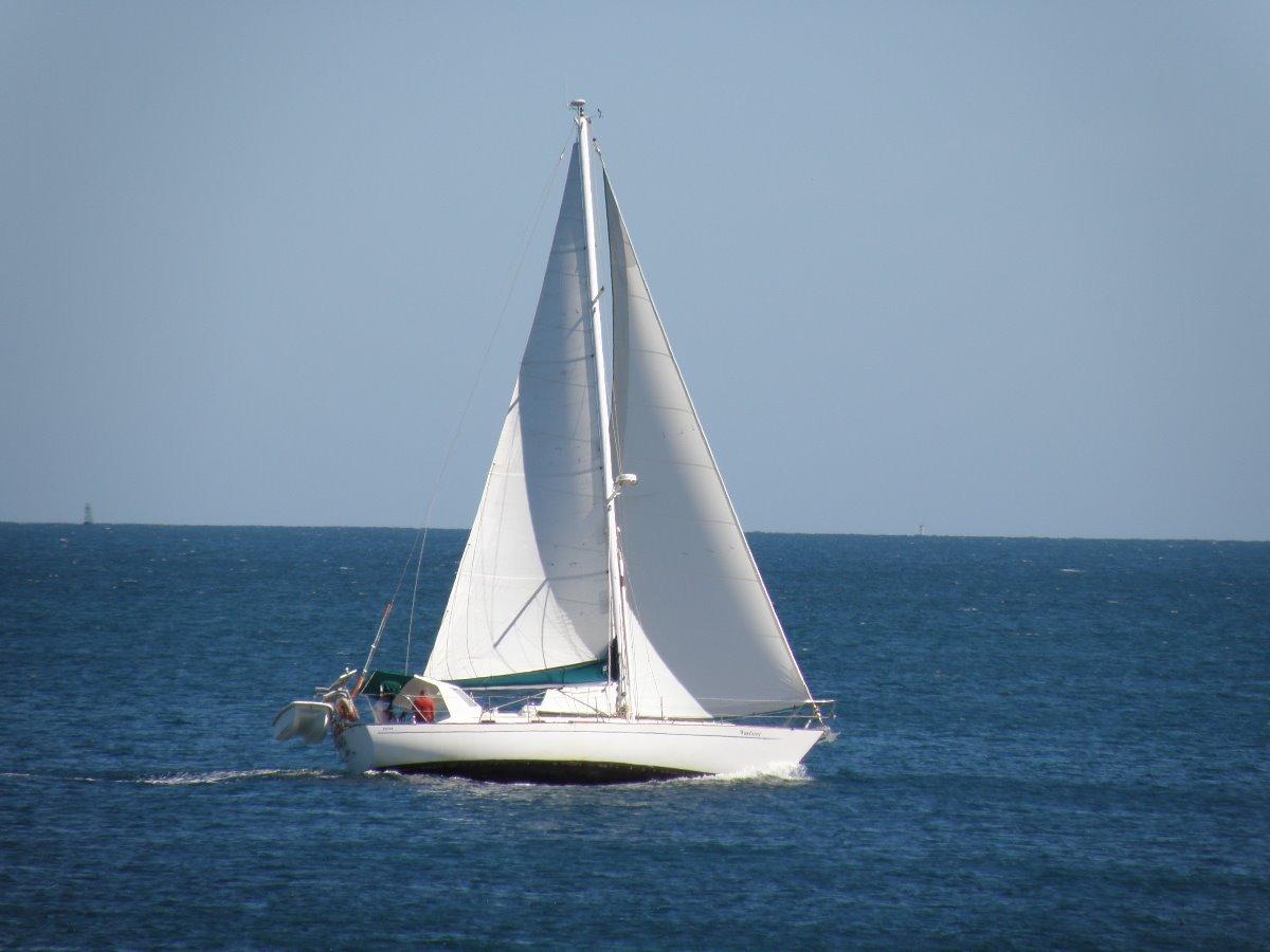 Passport 40 - A renowned cruising yacht. Australian Registered:Wayfarer underway
