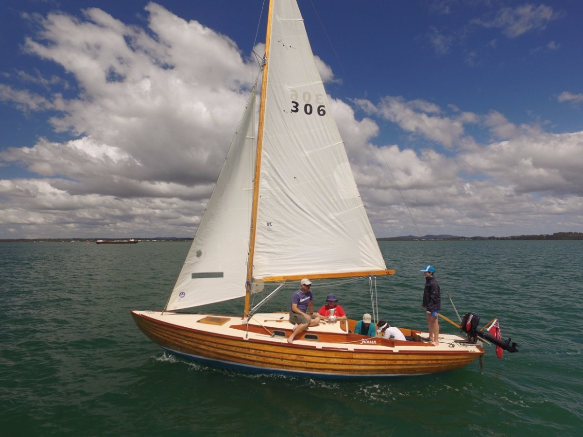 Folkboat Sloop - classic 1966 larch on oak frame deep keel yacht