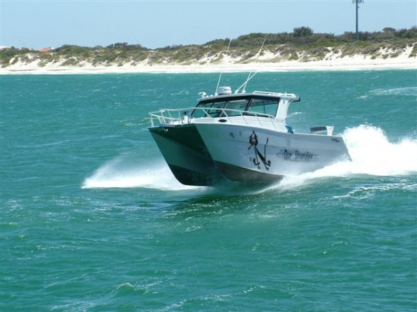 Preston Craft 7.6m Inboard diesel Thundercat.