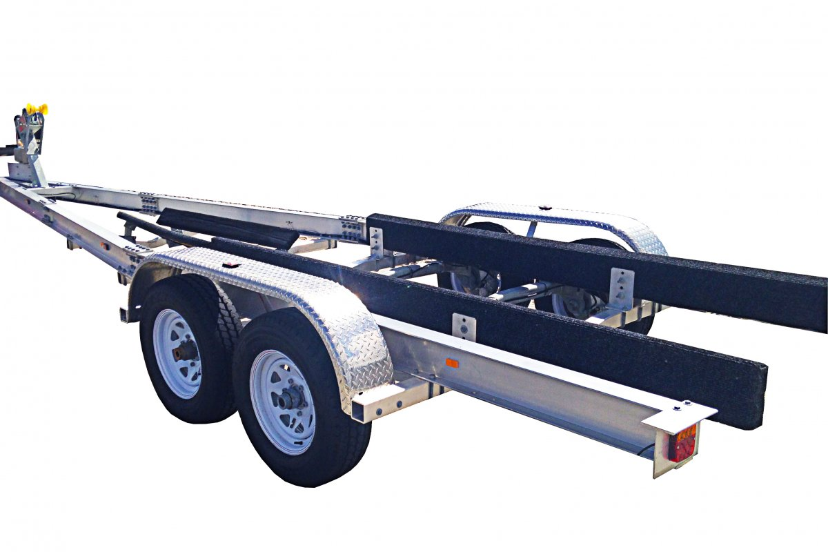 4.5 TON ALLOY TRAILER DUAL AXLE - QLD