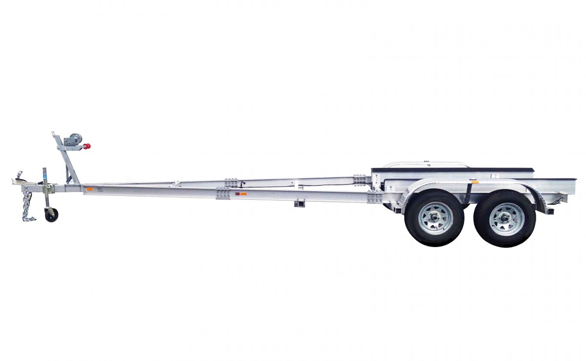 2 TON ALLOY BOAT TRAILER DUAL AXLE - SOUTH AUSTRALIA