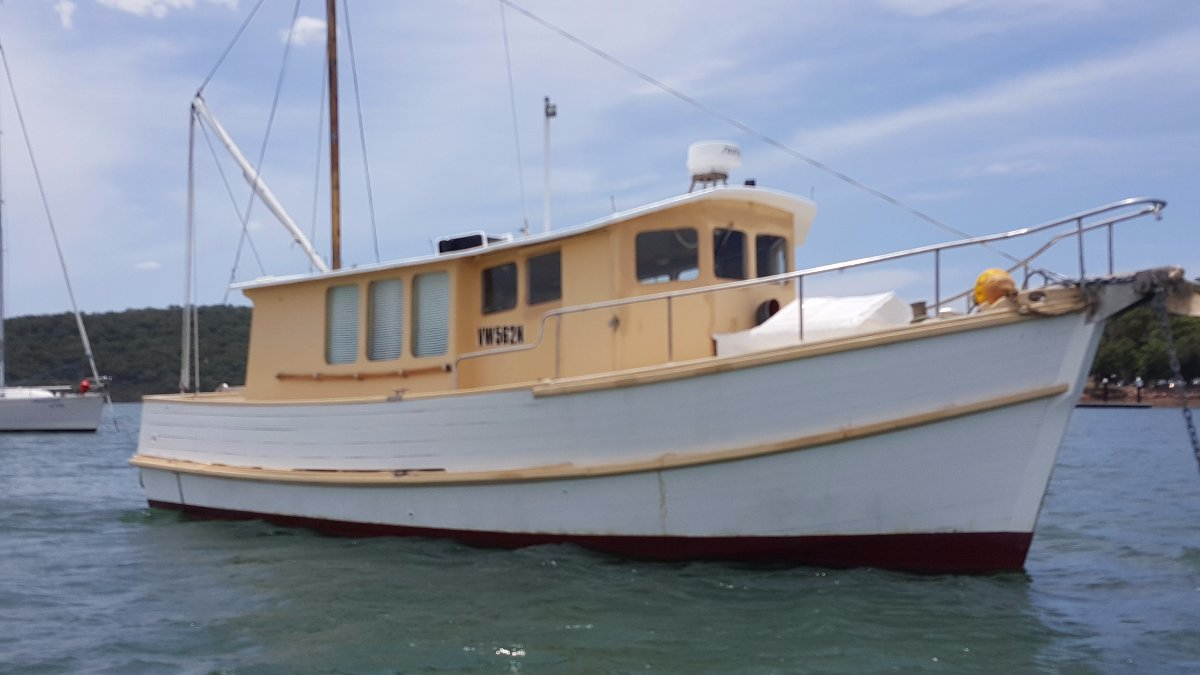 Bill Fisher 32 Trawler TIMBER Custom