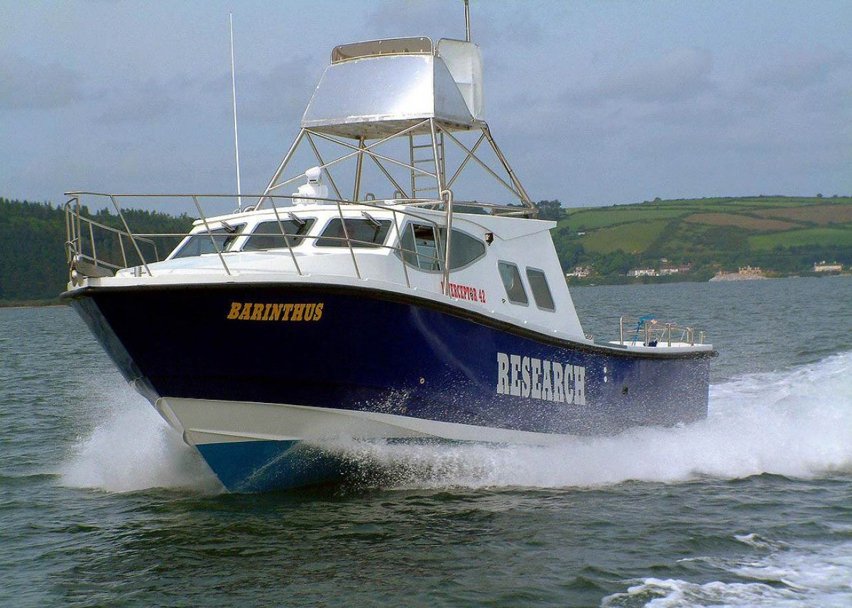 Safehaven Interceptor 42 Hydrographic Survey / Research