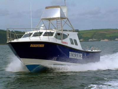 New Safehaven Interceptor 42 Hydrographic Survey / Research