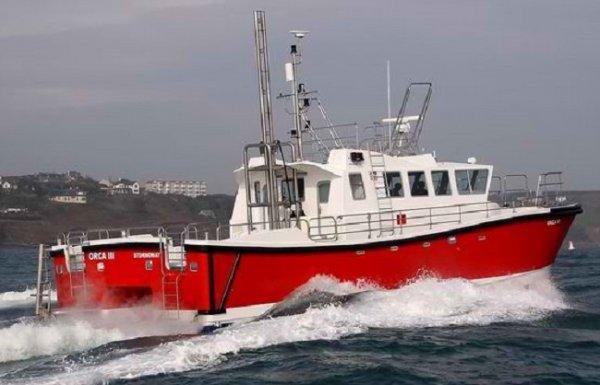Safehaven Wildcat 53 Single level Hydrographic vessel