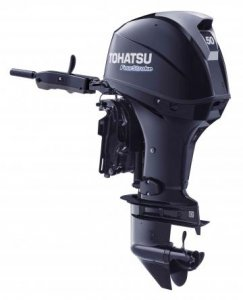 Tohatsu 50hp 4stroke Forward control fitted