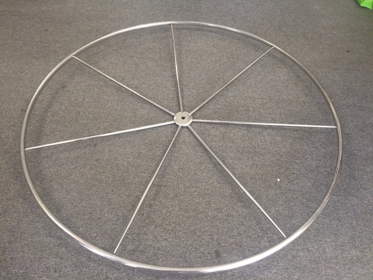 "Edson 60"" Stainless Steel Destroyer Wheel - 1/2 price"
