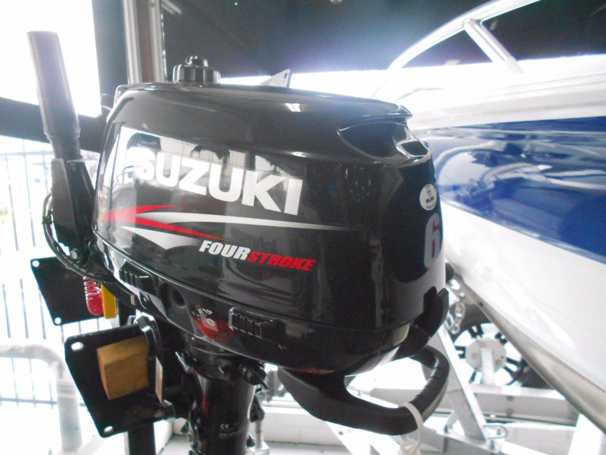 New Suzuki 6hp 4 stroke