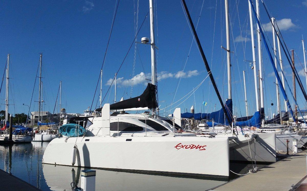 Exodus 12.2 Sailing Cat