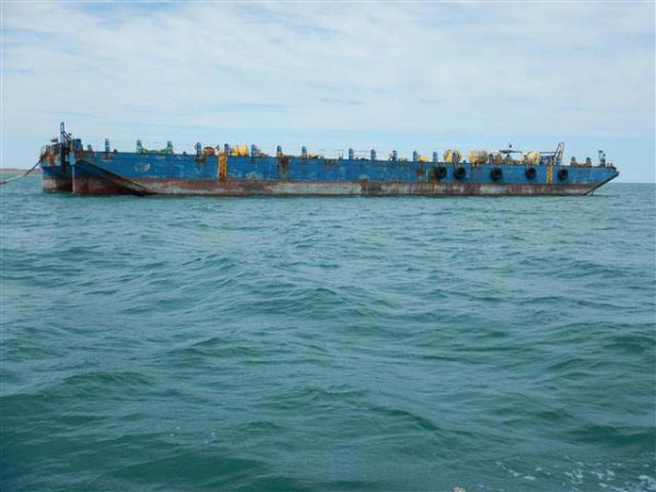 250ft 20T/m2 Flat Top Barge