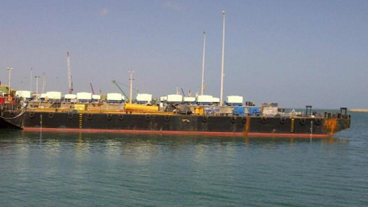180ft 15T/m2 Flat Top Barge - FT0499