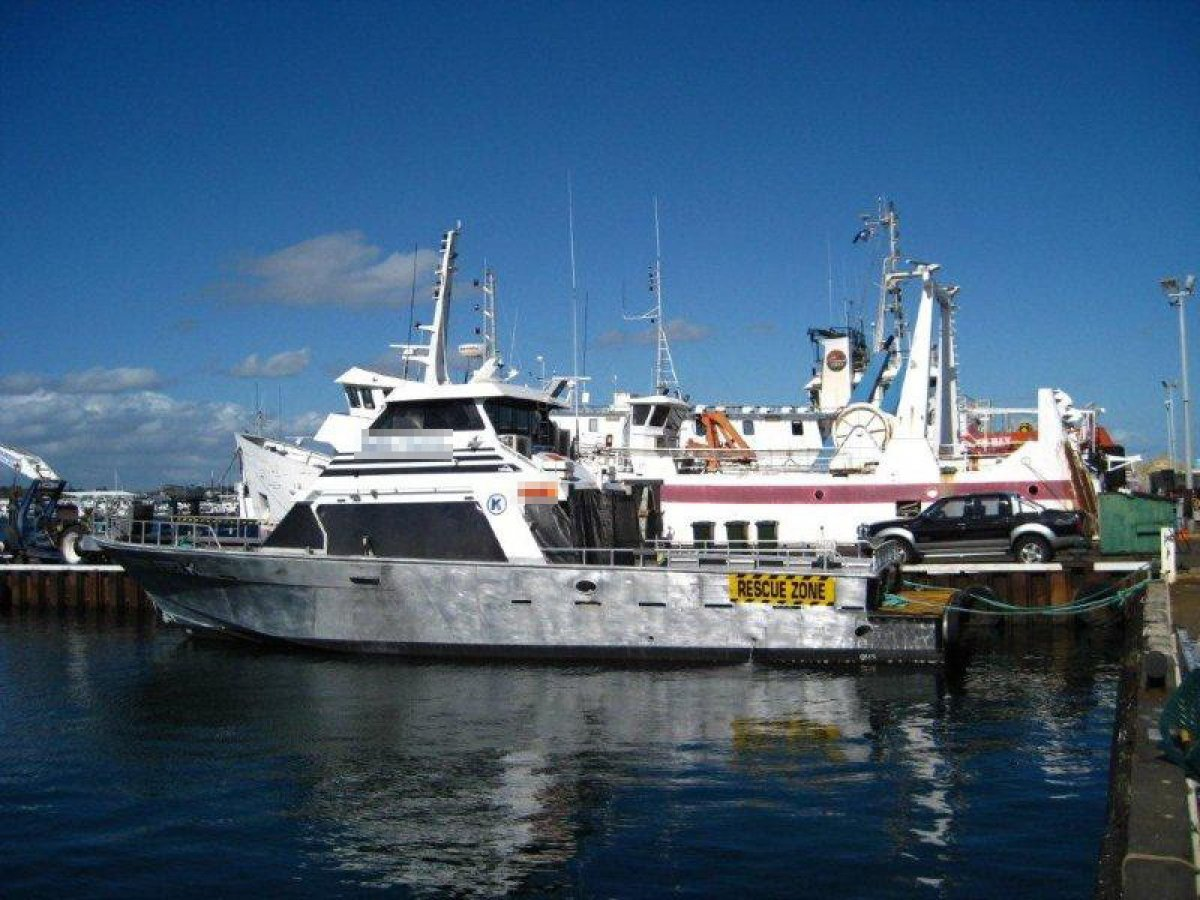 Seaquest Charter/Crew Supply 18.3m Twin Jet Charter Vessel