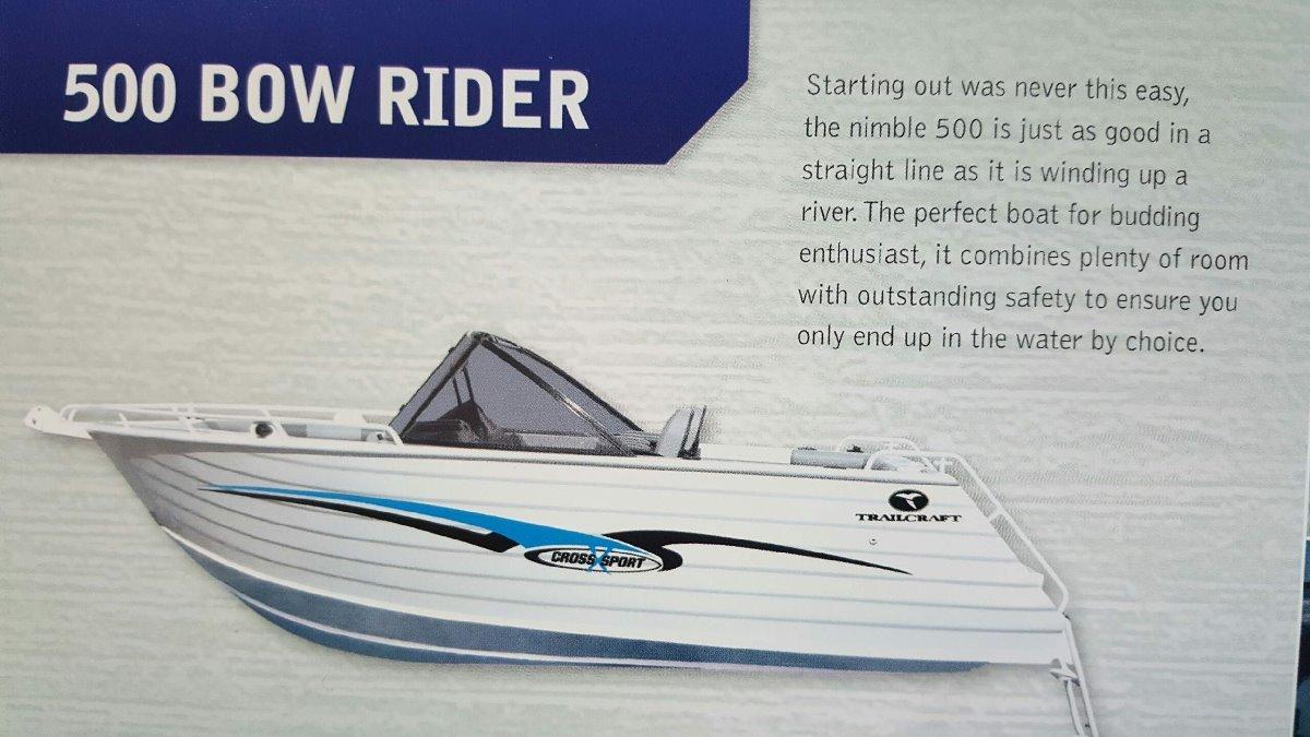 Trailcraft 500 Bowrider