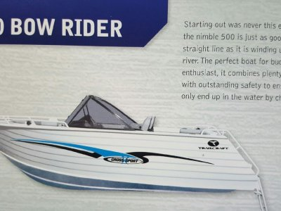 New Trailcraft 500 Bowrider