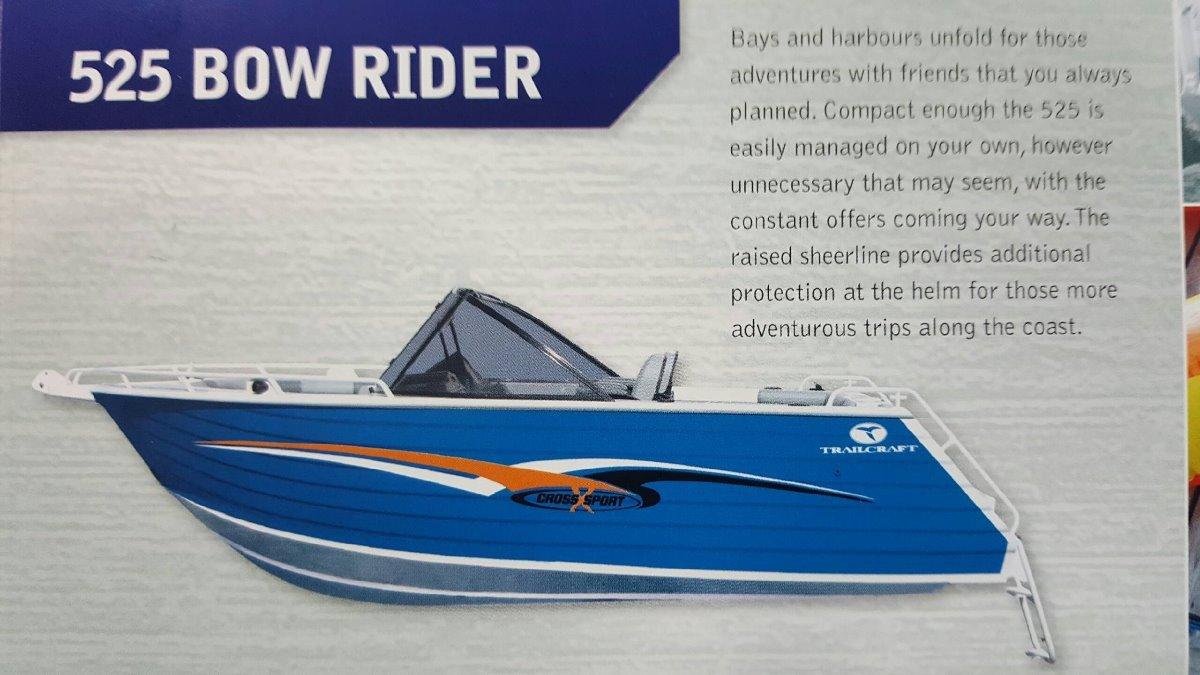 Trailcraft 525 Bowrider