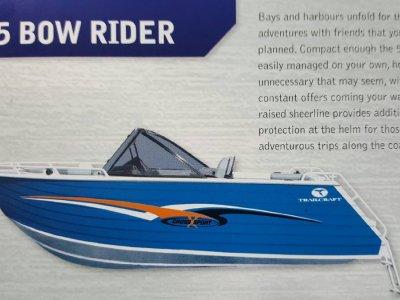 New Trailcraft 525 Bowrider
