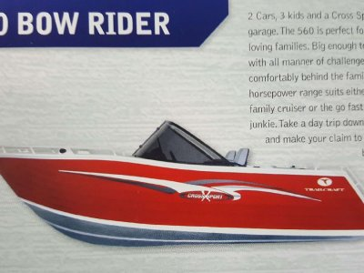 New Trailcraft 560 Bowrider