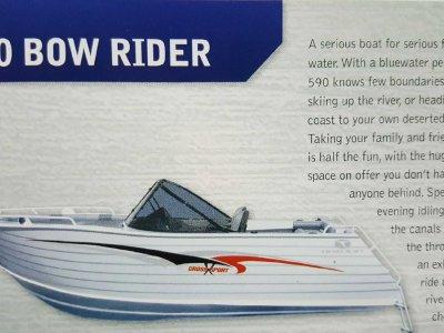 New Trailcraft 590 Bowrider