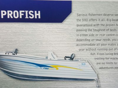 New Trailcraft 590 Profish
