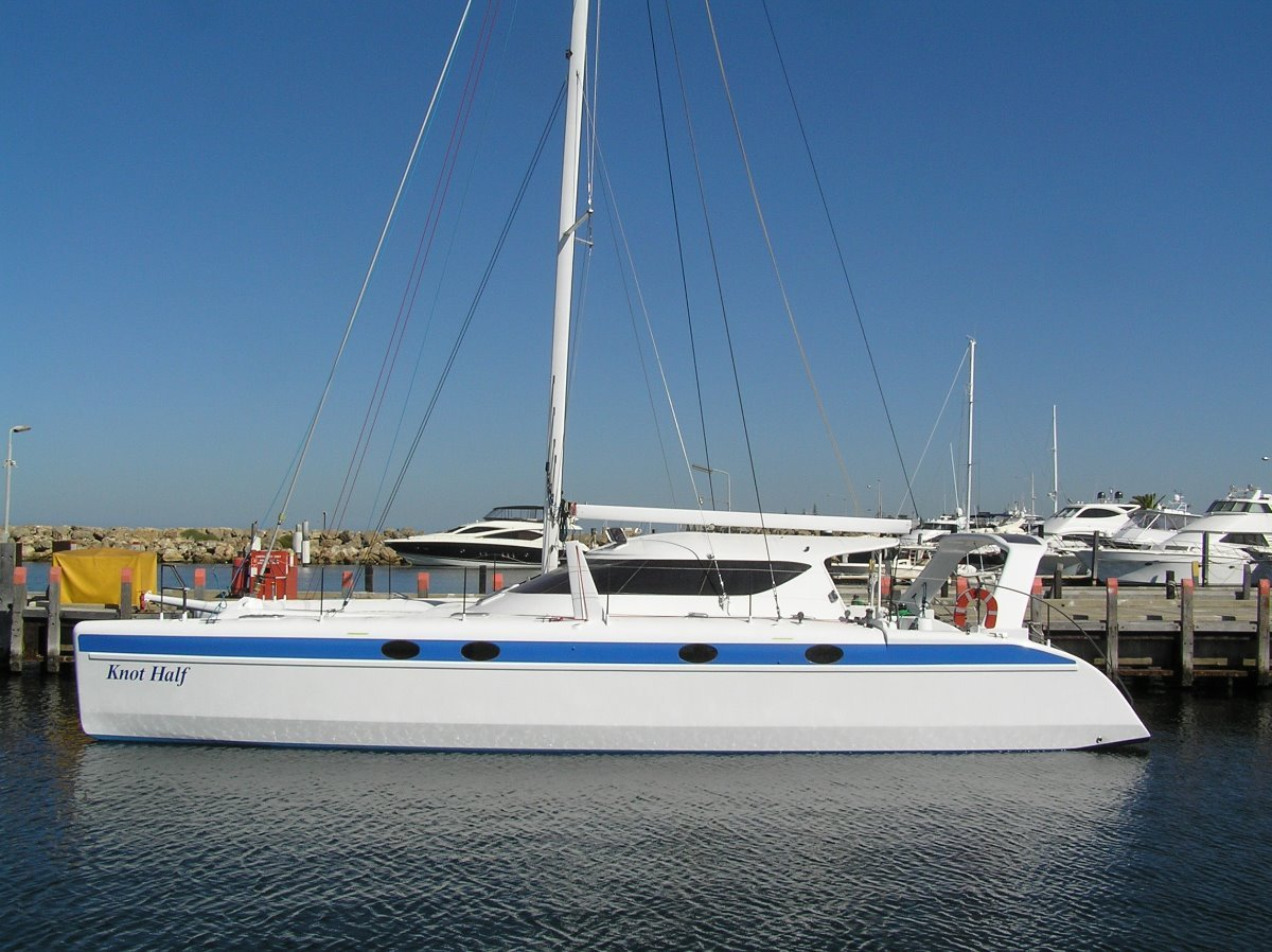 Schionning Wilderness 15m Carbon Hybrid:Just Launched Awaiting Sails
