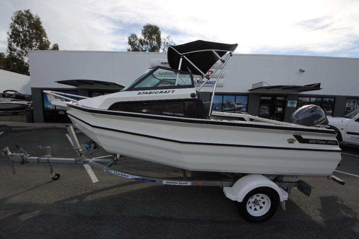 Stabicraft 1600 Fisher + Yamaha F70LA 70hp Four Stroke