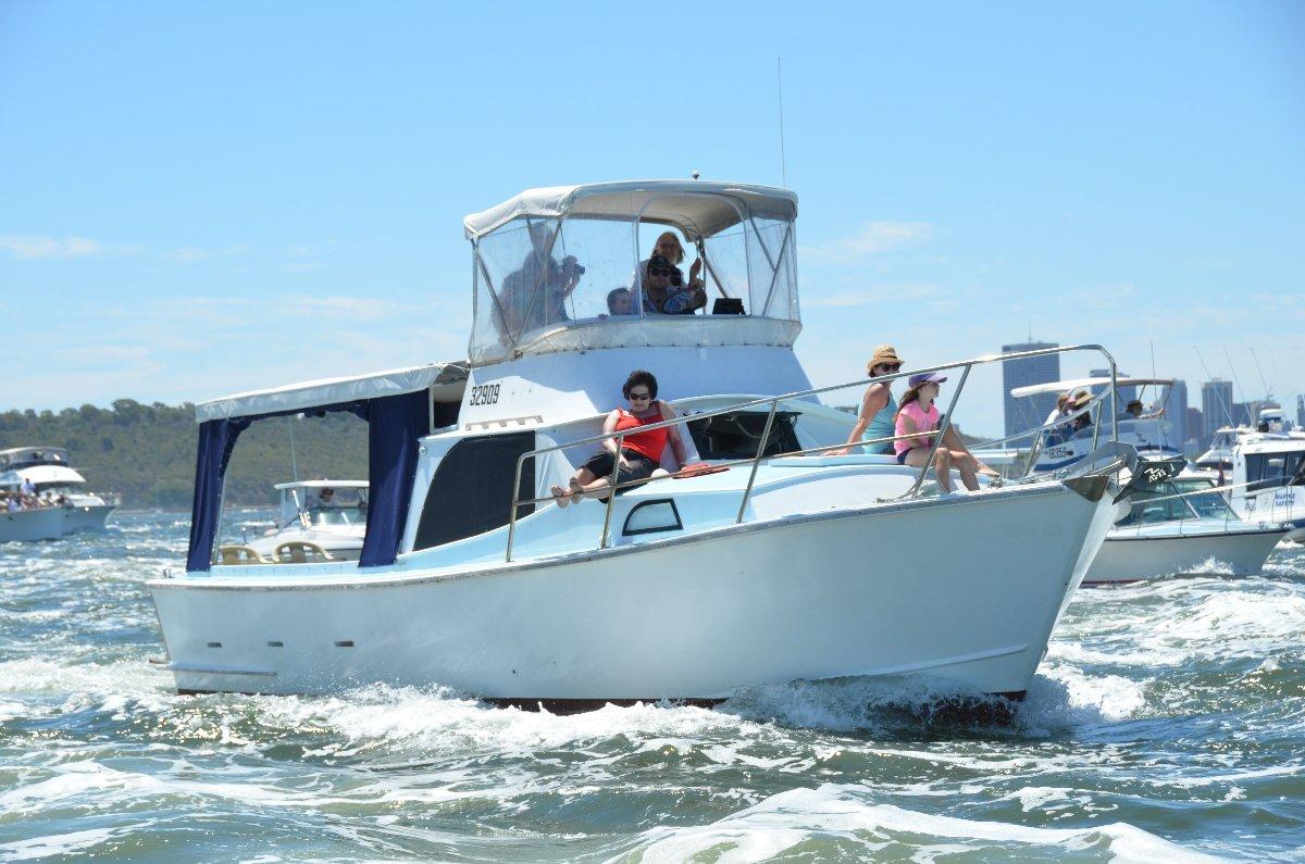 Randell Flybridge Cruiser Sports Fisherman 1/3rd Share