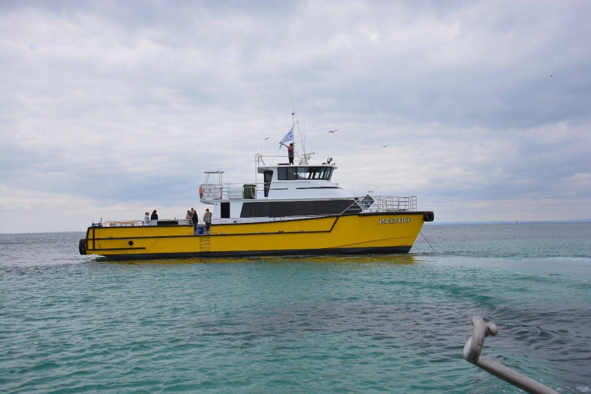 Legend Boats 21.8m Global Design Crew Transfer