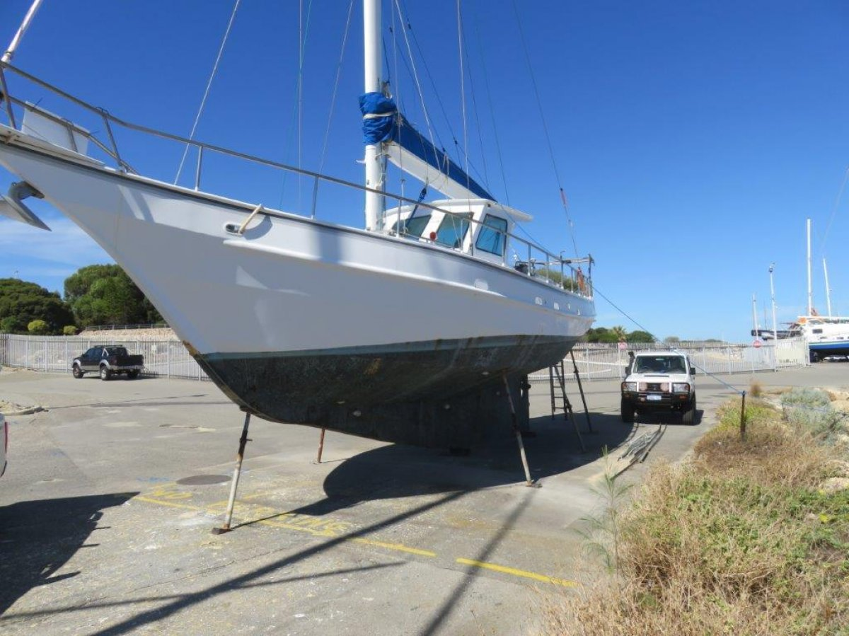 15.9m Steel Cutter Yacht