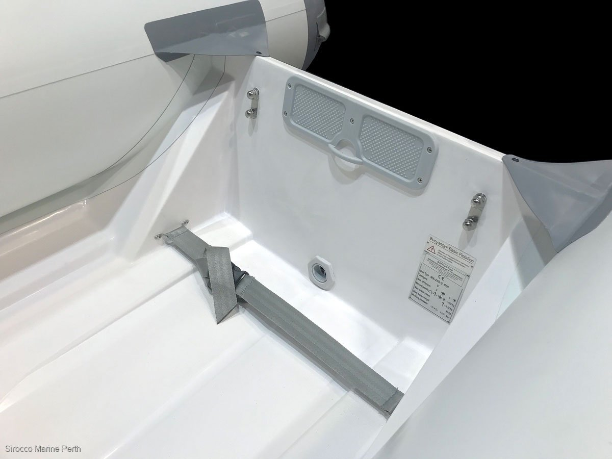 Sirocco 2.7 GRP Inflatable Tender, Rib